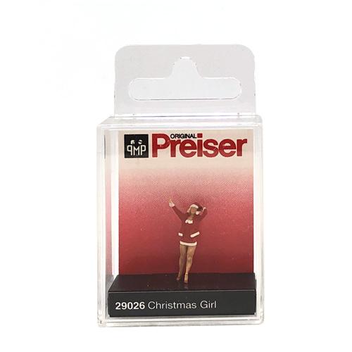 Preiser Christmas Girl 29026